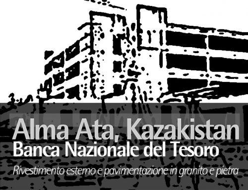 Alma Ata, Kazakistan – Banca Nazionale del Tesoro