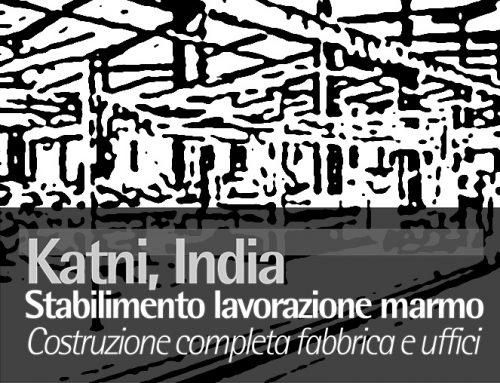 Katni, India Stabilimento Lavorazione Marmo