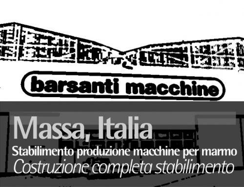 Massa, Italy Stabilimento produzione macchine per marmo