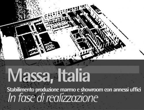 Massa, Italy Stabilimento produzione marmo e showroom con annessi uffici