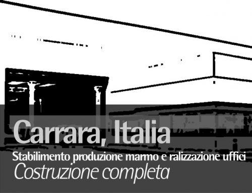 Carrara, Italia, Stabilimento produzione marmo e realizzazione uffici